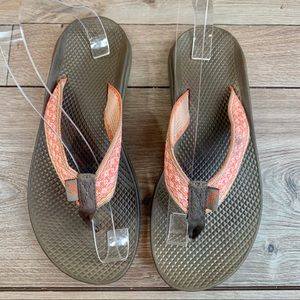 Chaco | Pink & Brown Sandals | Size 8